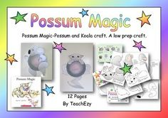 This low preparation activity can be used in conjunction with the story by Mem Fox of Possum Magic or as a craft on its own.Includes:Display backgroundsKoala craftPossum CraftThe wombat and echidna in. Road Trip Activities, Craft Activities, Possum Magic, Koala Craft, Magic Crafts, Echidna, Author Studies, Australia Day, Classroom Setting