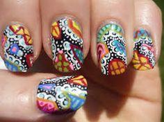 nail art designs for spring jenny nails neon green nails purple nail art dog nail grinder spooky nails Luv Nails, Sassy Nails, Pretty Nails, Nail Designs Spring, Toe Nail Designs, Paisley Nail Art, Rainbow Nail Art, Nail Pops, Nail Art Techniques