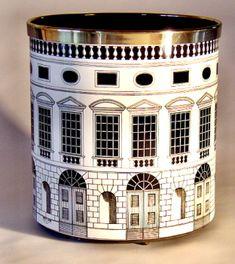 Piero Fornasetti Architettura paper basket