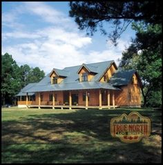Log Home Models | Louisburg V Log Home Model from True North Log Homes