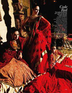 Ram Shergill / Vogue India November 2010.