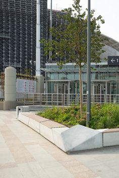 Универсальный ландшафтный конструктор для городской среды, предназначенный для оформления публичных пространств игородских зон отдыха. Line, Collection, Fishing Line