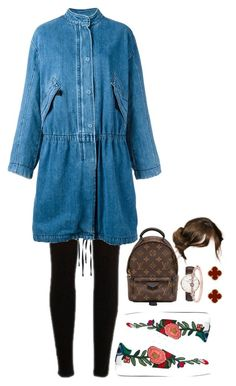 """""""Untitled #10"""" by japlap ❤ liked on Polyvore featuring River Island, Helmut Lang, Gucci, Louis Vuitton, Daniel Wellington, Van Cleef & Arpels and Givenchy"""