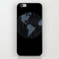 World map iPhone Skin by vladimirceresnak Iphone Skins, Map, Location Map, Maps