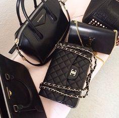 ✧☼☾Pinterest: DY0NNE #bag #chanel