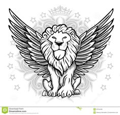desenho de leão - Pesquisa Google