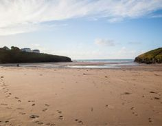 Porthcothan Beach - seven bays for seven days in St Merryn