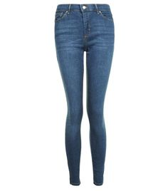 How to Create a 5-Piece French Wardrobe: Topshop Moto Dark Blue Leigh Jeans