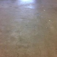 Grinding and sealing of concrete floor