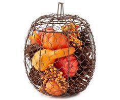 I found a Harvest Filled Wire Pumpkin at Big Lots for less. Find more Harvest at biglots.com!