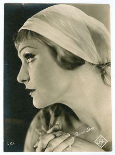 ANNA STEN original double weight movie photo early 1930s