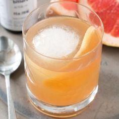 Sparkling Grapefruit Old Fashioned
