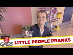 Little People Pranks - Just for Laughs Gags - Prank Videos - Joke King Just For Laughs Gags, Prank Videos, Little People, Funny Moments, Pranks, Jokes, Film, Fictional Characters, Authenticity