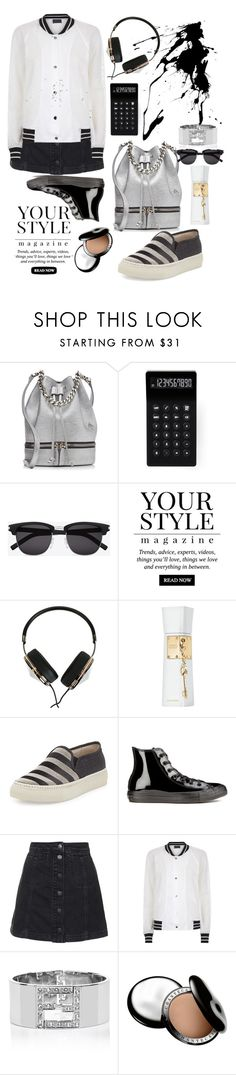 """""""Sport Fashion"""" by grinevagh ❤ liked on Polyvore featuring MANU Atelier, LEXON, Yves Saint Laurent, Pussycat, Frends, Justin Bieber, Brunello Cucinelli, Converse, Topshop and Antipodium"""