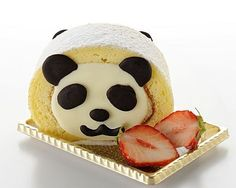 Panda roll cake  Tokyo cawaii sweets