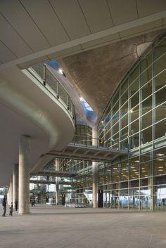 Queen Alia International Airport by Foster + Partners. Combines elegance with passive design.