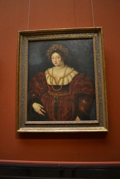 Isabella d'Este, 1600/01, Peter Paul Rubens Peter Paul Rubens, Female Portrait, Museum, Frame, Portraits, Painting, Home Decor, Art, Picture Frame