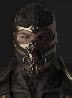 Mortal Kombat Tattoo, Arte Kombat Mortal, Scorpion Mortal Kombat, Mortal Kombat Games, Egypt Concept Art, Sasuke Cosplay, Anime Crafts, Game Character Design, Punisher