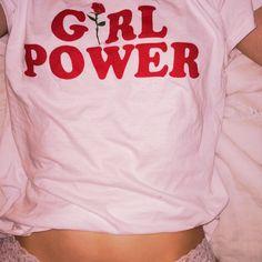 Street Outfits Women Girly All-match Girl Power Graphic Casual T-shirt – Lupsona Steam Punk, Grunge Tattoo, Indie, Lookbook, Girl Gang, Powerpuff Girls, Fashion Week, Pink Fashion, Fashion Brand