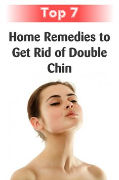 Double chin can make us believe that we are overweight and may create distress. Fortunately, not only liposuction or other cosmetic surgeries can get rid of this skin condition. Here are some natural tips that can relieve the problem.