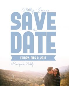 Joanne & Phillip's Save the Date by #smore_creative :  #design #graphic_design #wedding #save_the_date #wedding_invitations