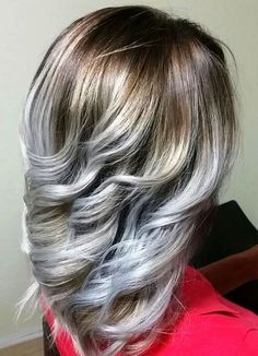 20 Hairstyles which Say 'Yay' to Silver and White Highlights When you sport a striking color, you tell the world that 'you' are the designer of your world and why not? Men