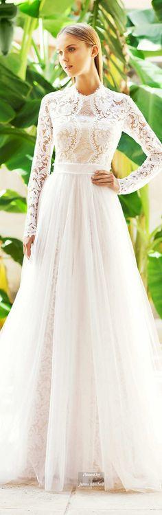 Christos Costarellos Collection Fall 2015 Bridal