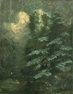Fir Trees by Sidney Herbert Sime