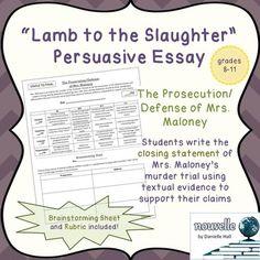 lamb slaughter critical essays