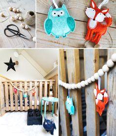 DIY box- of bed slinger: maak van je box een echte eyecatcher! Bb Style, Happy Birthday Baby, Diy Box, Felt Diy, Fashion Room, Diy Projects To Try, Home Decor Items, Wooden Beads, Craft Gifts