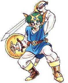 Solo Dragon Quest IV Square-Enix Akira Toriyama
