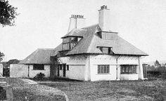 Voysey: LOWICKS, 1894, Sandy Lane, Frensham, Surrey. For E. J. Horniman.