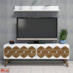 Comoda Tv Nisan - Alb Tv Unit, Timeless Design, Living Spaces, Entertaining, Contemporary, Unique, Classic, Products, Cots
