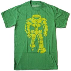 Amazon.com: Ames Bros Man-Bot Vintage Graphic Green Adult T-shirt Tee , Large: Clothing