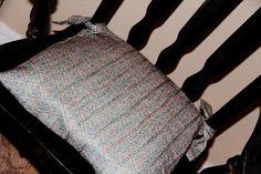 No sew chair cushion