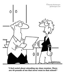 cartoons about school reunions - Google Search