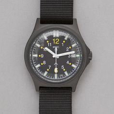 MWC G10SL MKV 100m Water Resistant Military Watch in Black