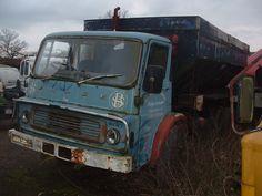 Abandoned Dodge truck (USA)