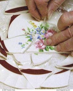 Making Mosaic Garden Art - FineGardening