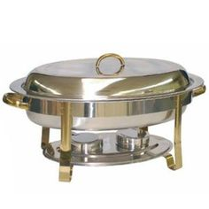6 QT GOLD ACCENTED OVAL CHAFER Reviews - http://cookware.everythingreviews.net/4449/6-qt-gold-accented-oval-chafer-reviews.html