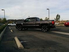 2014 Silverado with KMC Slides