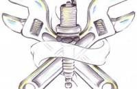 wrench tattoo designs | ... tattoos,plate tattoos,respect tattoos,tools tattoos,wrench tattoos