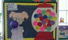 My favorite bulletin board for my classroom.
