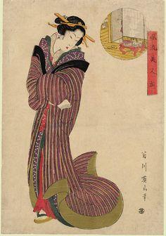 Ancient Japanese Art, Japanese Folklore, Japanese Artwork, Japanese Prints, Japan Painting, Edo Period, Japan Art, Chinese Painting, Japanese Culture