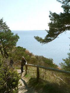 Usedomer Halbinsel Gnitz: Radfahren und Wandern in einer der schönsten landschaften Deutschlands.