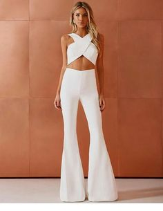 Nice white jumpsuit design - Nice white jumpsuit design Source by - Classy Outfits, Trendy Outfits, Summer Outfits, Cute Outfits, Fashion Outfits, Womens Fashion, Ladies Outfits, Jumpsuit Outfit, White Jumpsuit