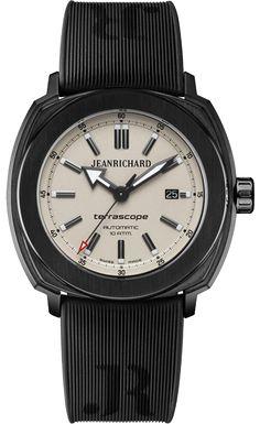 Jean Richard Terrascope Beige Dial DLC Coated Stainless Steel Case #JeanRichard #TerraScope #WatchConnection #Watches #Professional #Ican #DailyWatch #WatchOfTheDay #Inspiration #classy #wristwatch #RealSmartWatch #PhotoOfTheDay #Love #instagood #me #luxury #success #MenWithStyle #WatchPorn #MensFashion #MensWatch #CostaMesa #OrangeCountyCa