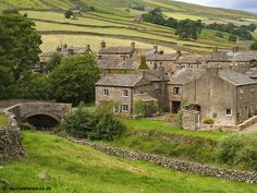 The Yorkshire Dales. Home to our very own Hannah Williamson who hand makes our wonderful applique cushions. http://www.lissiloos.co.uk/Soft_Furnishings_The_Hannah_Williamson_Collection_s/1881.htm