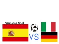 Final: Spain vs Germany? or Italy?