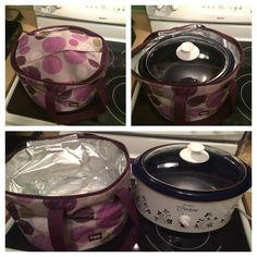 Oval 3 Qt crockpot + Around We Go Thermal = Success!!  This is going to be the perfect Christmas gift to all the Mamas on your list this year!